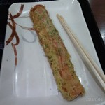 丸亀製麺 - ちくわ磯辺天