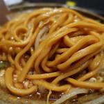 ラーメン 宮郎 - 【限定】味噌煮込みラーメン並・ヤサイニンニク(930円)
