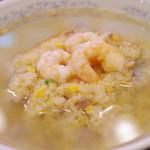 慶楽 - 上湯炒飯(アップで)