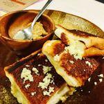 ココロ - ホタテのハーブトースト これ店員さんもオススメで、めっちゃ美味しかった❗️