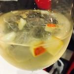 ココロ - サングリア、白! 美味しい〜