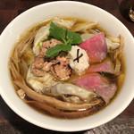 99079094 - 「和牛フォアグラ雲呑麺 フォアグラ丼付き」1800円