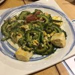 かたつむり - 料理写真:ゴーヤチャンプル