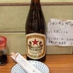 あべちゃん - 2018.12 サッポロビール中瓶(650円)赤星