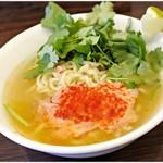 麺や 河野 - 料理写真:R-20テキーラ 930円 テキーラは名ばかりではありません。がっちょり効いてます。