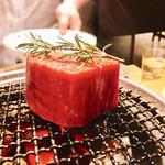 焼肉すどう - 4度焼きのステーキ凄いな♡(肉)