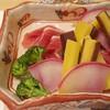 満留賀 - 料理写真:温野菜と鴨の生ハム