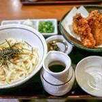 讃岐麺房 すずめ - ☆ぶっかけぶた天 1180円