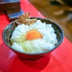カドヤ食堂 - ☆名古屋コーチンの卵がけご飯 380円