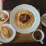 cafe ミモザ - 料理写真:パスタランチセット
