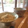 恵那寿や - 料理写真:栗粉餅とお薄  1000円(2018.12.現在)