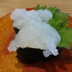 氷見きときと寿し - 白えび460円(税抜)