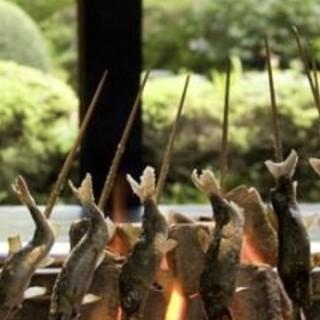 鶏料理を始め山の幸も