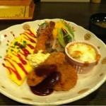 洋食の家 キャベツ - キャベツセット