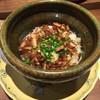 日本料理 潤花 - 料理写真:キンキとレンコン揚げの土鍋炊きご飯