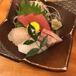 三瀬谷 大黒屋 - お造り 盛り合わせ 1100円