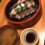 99093789 - さんま寿司  650円