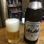 三兵酒店 - 「ビール(小)」300円也。