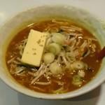 ラーメンとん太 - カレーラーメン(バタートッピング)