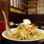 新生飯店 - ちゃんぽん580円。