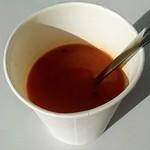 浜勘 - 料理写真:カニトマトスープ