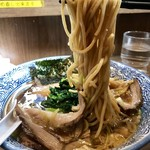 煮干しつけ麺 宮元 - 「チャーシュー生姜醤油そば」(1100円)