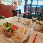 コンコースカフェ - お箸がさりげなくファンキー(*^^*)