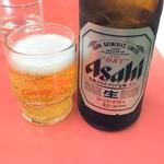 山田屋 - 瓶ビール580円