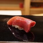 日本橋蛎殻町 すぎた - 鮪の背とろ