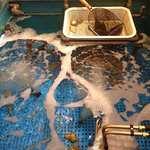 魚盛 - 魚盛 丸の内店 @大手町 鯵などが泳ぐ活魚水槽