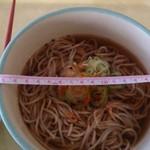 東京理科大学 みなも食堂 - 料理写真:かけそば200円 丼の直径17cm