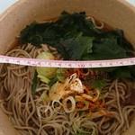 東京理科大学 シダックス食堂 - 料理写真:ワカメそば290円 丼の直径18cm位