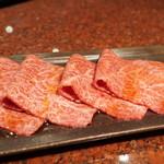 焼肉 うしごろ - イチボ(タレ。1800円)