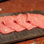 焼肉 うしごろ - シンシン(2000円)
