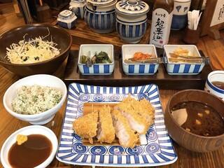 かつ吉 水道橋店 - ロースかつ定食150g
