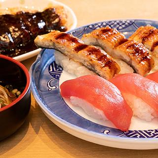 【トンカツ×寿司】ボリューム満点の高コスパ定食をご提供