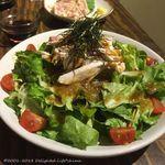 99112630 - 鶏ジローサラダ(580円)