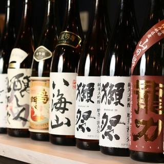 プレミア日本酒・焼酎・梅酒