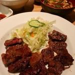 99116077 - 牛ステーキ定食(特選)税込1100円