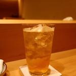 なか條 - 梅酒ソーダ割り