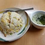 麗華餃子 - 料理写真:炒飯です。(2018年12月)