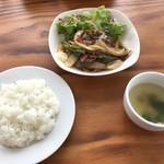 ディアマンピュール - 料理写真:スタミナ炒め(850円)