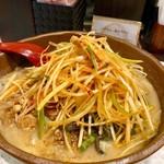 麺場 田所商店 - 料理写真:信州味噌肉ネギラーメン