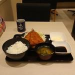 吉野家 - タルタルアジフライ定食
