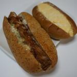 コバトパン工場 - 三元豚のトンカツ・タマゴサラダ(ハーフ)