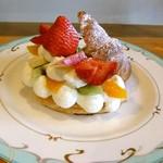Fruit Chef - フルーツシェフサンド。