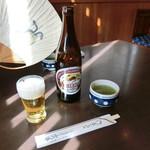 小川家 - 鰻の図柄団扇