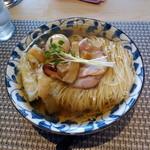 麵処清水 - 海老ワンタン麺