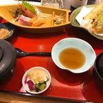 小魚 阿も珍 - 料理写真:茶碗蒸しはあとから到着
