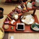 路地中ノ - ちらし寿司ランチ